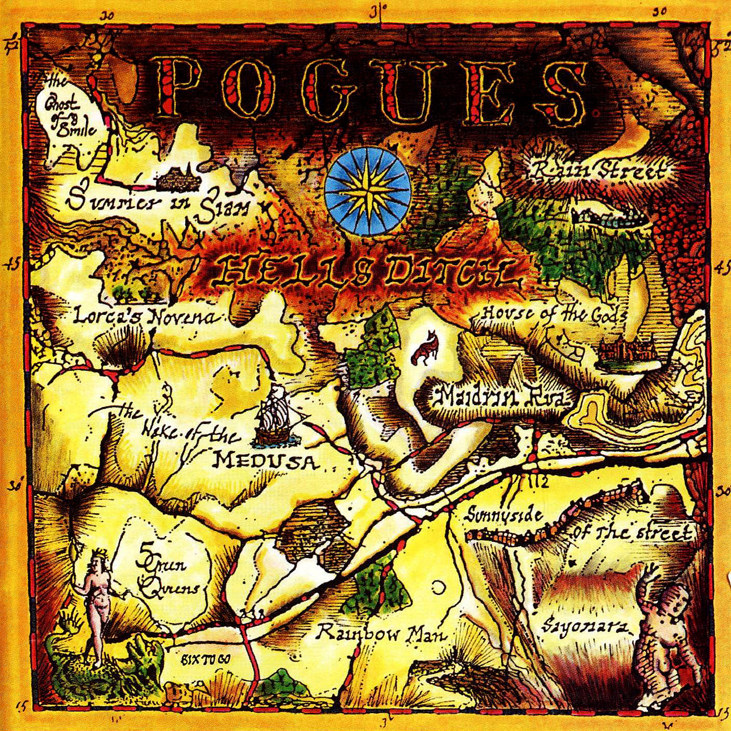 The Pogues Hell S Ditch Album 25 Years Ago Turn
