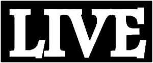 Live bw Logo