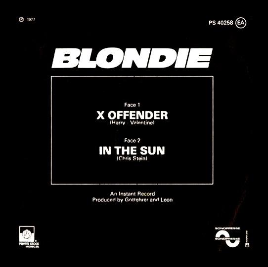 BlondieOffender