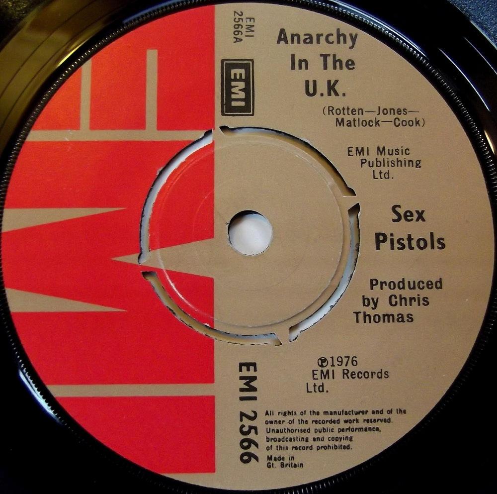 anarchy in the uk lyrics sex pistols