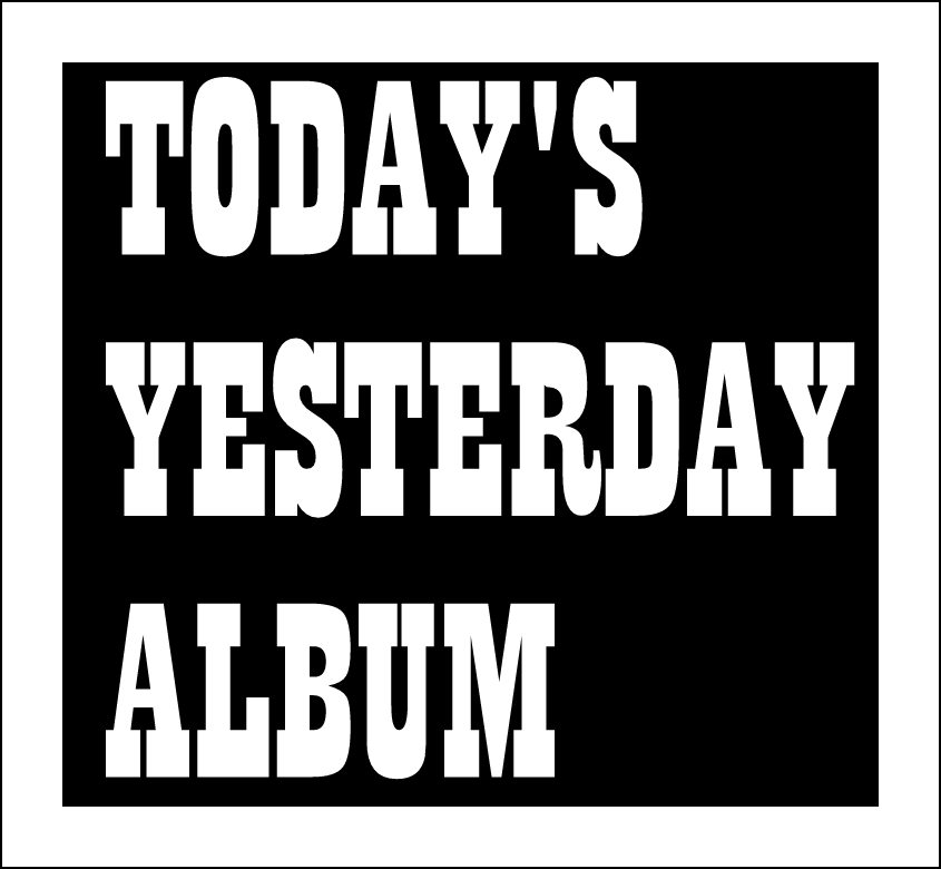 TODAY'S YESTERDAY ALBUM – PORTISHEAD Second LP…   TURN UP THE VOLUME!