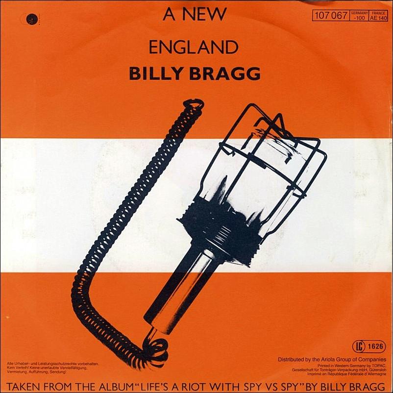 Billy Bragg New England