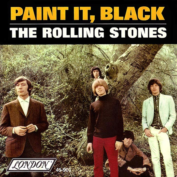 HISTORY – 'Paint It Black' by THE ROLLING STONES No 1 In The