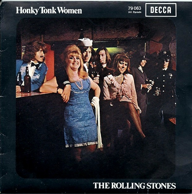 HONKY TONK WOMEN' By THE ROLLING STONES Hit Top Spot Of The