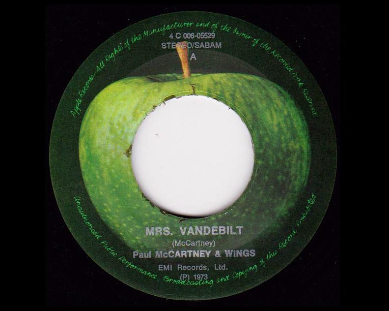 MRS  VANDEBILT' By WINGS – 45 Years Ago… | TURN UP THE VOLUME!